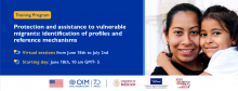 Training Program - Protection and assistance to vulnerable migrants: identification of profiles and reference mechanisms