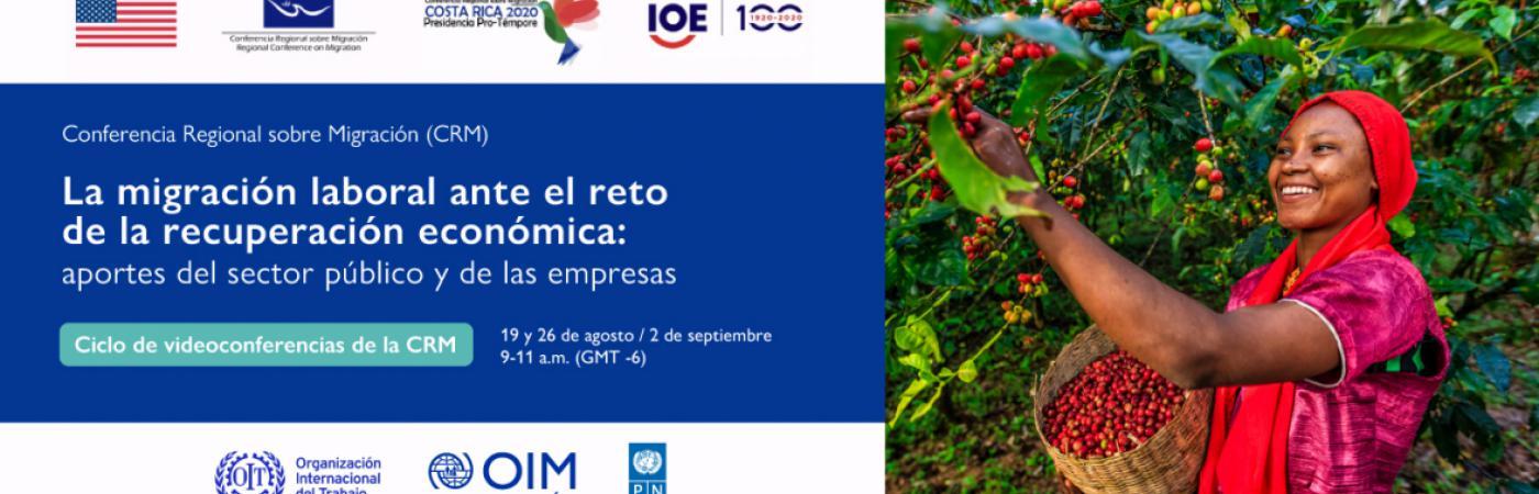 Ciclo de conferencias virtuales: La migración laboral ante el reto de la recuperación económica